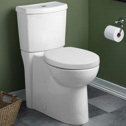 American Standard Studio Concealed Trapway Dual Flush RH EL Toilet - •LXP (Luxury Performance) Toilet
