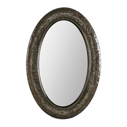 Ren-Wil - Jane Mirror - 25W x 36H in. Multicolor - MT1514 - Shop for Mirrors from Hayneedle.com! The Jane Mirror 25W x 36H in. brings unexpected color and mottled texture to contemporary wall decor. Finished in classic gun metal this modern mirror is suitable for horizontal or vertical installation.About Ren-WilFor over 45 years Ren-Wil has been creating quality wall decor mirrors and lighting that enhances any space. The company's talented team of in-house artists travels the world to find the newest materials fashions and trends and then applies them to their work. The team also uses multi-media designs for many of their pieces. Ren-Wil is the leader in Alternative Wall DEcor and is the market leader in Canada. They thrive on offering a fresh innovative product line and superior customer service.