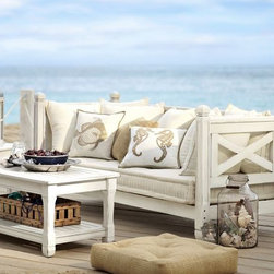 Weatherby Sofa - Here is a nice weathered, soft look, especially nice for a beach-style home.