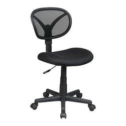 Office Star - Office Star Screen Back Task Chair - Office Star - Office Chairs - EM206003