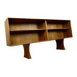 Danish Teak Credenza Top Hutch Bookcase - RetroPassion21