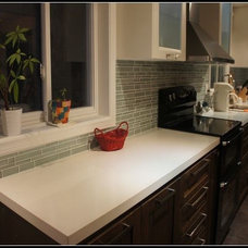 Contemporary Kitchen Cabinetry by Homey Kitchen Cabinet Design