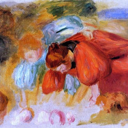 "Pierre Auguste Renoir Study for 'The Croquet Game' - 16"" x 20"" Premium Archival - 16"" x 20"" Pierre Auguste Renoir Study for 'The Croquet Game' premium archival print reproduced to meet museum quality standards. Our museum quality archival prints are produced using high-precision print technology for a more accurate reproduction printed on high quality, heavyweight matte presentation paper with fade-resistant, archival inks. Our progressive business model allows us to offer works of art to you at the best wholesale pricing, significantly less than art gallery prices, affordable to all. This line of artwork is produced with extra white border space (if you choose to have it framed, for your framer to work with to frame properly or utilize a larger mat and/or frame).  We present a comprehensive collection of exceptional art reproductions byPierre Auguste Renoir."