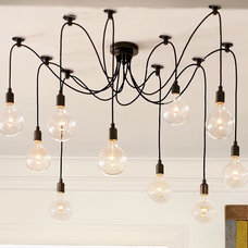 Eclectic Ceiling Lighting Edison Chandelier