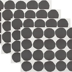 Marimekko Kivet Black and White Paper Placemats