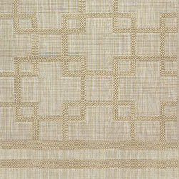 Dante Stria - Its geometric pattern is bold, but the neutral colors of this carpeting help it stay subtle and refined. It's a perfect complement to any type of decor that wants to make a statement!