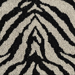 Mod Zebra Carpet Tile - I like the look of zebra, but I'm not so much a fan of hides. These floor tiles let me have the pattern I like without the skin, thanks to their synthetic nylon makeup.