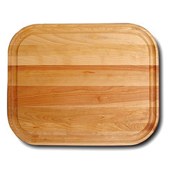 Catskill Craftsman - Barbecue Cutting Board - Every kitchen needs a flat grain barbecue cutting board Cooking accessory features a juice groove on one side and is plain on the otherAdd a new dimension to your dining experience using this reversible cutting board