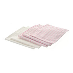 Laurent Doll - Laurent Doll Pink Stripe Linen Set for Doll Loft Bed Set - LDLB2-PNK-02 - Shop for Dolls Clothes and Accessories from Hayneedle.com! Your little girl will love tucking her favorite baby dolls into bed with the Laurent Doll Pink Stripe Linen Set for Doll Loft Bed Set. Beautifully crafted from 100% cotton this set features a simple yet elegant pink stripe print on the top and a solid white back. Two 100% cotton pillow cases two comforters and two mattress covers are included.About Laurent DollLaurent Doll was started in 2009 by Kathy Cahill and her son Scott and founded on the principal of creating high quality design and manufacturing to fit a wide range of 18-inch dolls. Crafted from quality hardwoods Laurent Doll offers an exceptional collection of doll furniture linens and accessories.