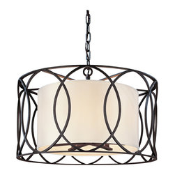 Troy Lighting - Troy Lighting F1285DB Sausalito 5lt Pendant Dining - Troy Lighting F1285DB Sausalito 5lt Pendant Dining