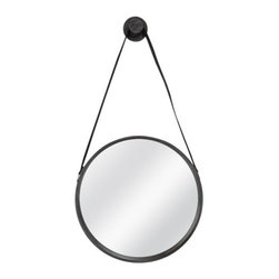 Threshold Round Captain's Mirror - Hang a mirror to bounce light around the room and give guests a chance to check themselves before heading to the breakfast table.