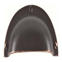 Atlas Homewares - Atlas A818-Vb Successi 3 3/4-Inch Bin Cup Door Pull Venetian Bronze - Atlas A818-Vb Successi 3 3/4-Inch Bin Cup Door Pull Venetian Bronze