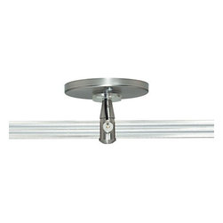 """Tech Lighting - Two Circuit Monorail 4"""" Round Power Feed Canopy, Single Feed - 4"""" round power feed canopy, single feed for use with Tech Lighting's two circuit monorail system"""