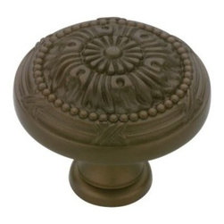 Liberty Hardware - Liberty Hardware P10114-TBZ-C Provincial Antiques Cab HW-Li 1.08 Inch Round Knob - Use the Liberty 1-3/16 in. Tumbled Bronze Vintage Knob to help add a decorative, traditional look to your cabinetry. The knob features a tumbled bronze finish for beauty. Fasteners included for easy installation. Width - 1.08 Inch, Height - 1.25 Inch, Projection - 1.25 Inch, Finish - Tumbled Bronze, Weight - 0.12 Lbs.