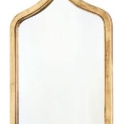 Zanzibar Gold Leafed Mirror - I love the Moroccan shape of this mirror. It's simple yet gorgeous.