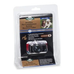 Petsafe - PetSafe Wireless Pet Containment System PIF-275 Receiver Collar - Additional receiver collar for use with the PetSafe Wireless Pet Containment System so that you can contain an extra pet with the system.