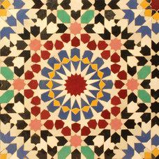 Eclectic Tile by Le Mosaiste