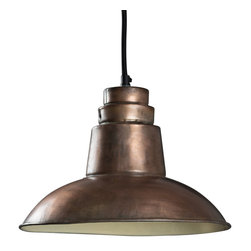 Bridgeport Hanging Lamp - Product Features: