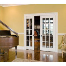 Pics to send to builder / french pocket doors