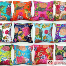 Traditional Pillows by Essentially Indian - Handmade Home Furnishing