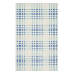 "Surya Rugs - Surya HC5805 Happy Cottage Designer Blue Rug (3-Feet 6-Inch x 5-Feet 6-Inch) - 100% Wool. Style: Designer | Flat Weave. Rugs Size: 3'6"" x 5'6"". Note: Image may vary from actual size mentioned."