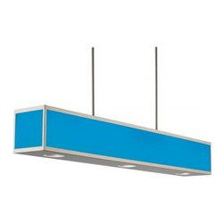 Hart Lighting - Chameleon 35.7W LED Color Changing 3-Light Linear Pendant - Chameleon 35.7W LED Color Changing 3-lt Linear Pendant