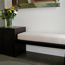 Contemporary Indoor Benches by NEXS Cabinets Inc.