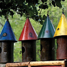 Traditional Birdhouses by Are Naturals