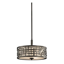 Kichler Lighting - Kichler Lighting - 43049OZ - Loom - Three Light Convertible Semi-Flush Mount - *Canopy Included.