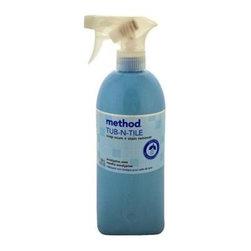 Method Products Tub And Tile Spray - Eucalyptus - 28 Oz - Bleach and ammonia based cleaners can leave a layer of dirty residue on bathroom surfaces, but this plant-based and biodegradable formula will leave your bathroom spotless without leaving traces of itself behind. Method Cleanings' naturally derived products give you a clean feeling that's safe for you and safe for the environment. Products are non-toxic and made from renewable and/or abundant natural resources. Great eucalyptus scent!