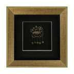 China Furniture and Arts - Hand-Forged Jewelry Shadow Box - Exquisitely hand-forged, this piece is a reproduction of the traditional jewelry of the Yao tribe of the southern Chinese province of Yunan. Framed in a custom-made museum quality hardwood shadowbox for viewers to admire.