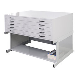 Modern Filing Cabinets: Find Vertical and Lateral File Cabinet Designs Online