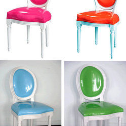 Pop Louis Side Chairs