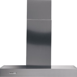 """Broan - Range Master RM534204 42"""" Wall Mount Chimney Hood with 370 CFM Internal Blower - The Broan RM534204 Rangemaster 42 Stainless Steel 370 CFM Chimney Range Hood combines graceful curves and traditional European styling The 53000 Series is engineered to meet the requirements of todays highly styled conventional appliances and kitchens"""