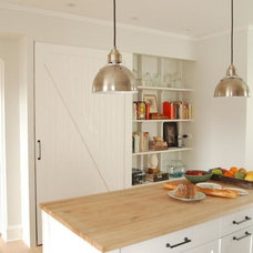 5 Favorites: Sliding Barn Doors in the Kitchen: Remodelista