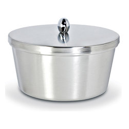 Cuisinox - Cuisinox Margarine Holder - Now you can place your margarine containers into a more presentable holder. This holder is made from a satin finish stainless steel and holds most 1 lb / 454 gram margarine containers.