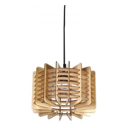 ParrotUncle - Traditional Wooden Drum Shade Home Pendant Lighting - Traditional Wooden Drum Shade Home Pendant Lighting