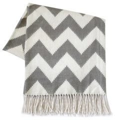 modern throws by Layla Grayce
