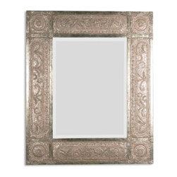 Gold Champagne Leaf Mirror - Gold Champagne Leaf Mirror
