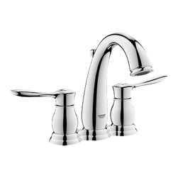 "Grohe - Grohe 20391-000 Parkfield Series 4? Centerset Lavatory Faucet - The Parkfield  Centerset Lavatory Faucet (20391) Features Grohe'S Watercare Technology, Giving It A Flow Rate Of 1.5 Gpm. It Has A Solid Brass Construction, A 1/2"" Ceramic Cartridge (90 degree turn), A pop-up Waste Set,And A Pressure Resistant Set Of Connection Hoses (Between Spout And Side Valves). This Model Comes In Grohe'S Starlight Chrome Finish."