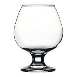 Hospitality Glass - 5H x 2.25T x 2.5B Capri 12 oz Brandy Wine Glasses 48 Ct - Capri 12 oz Brandy