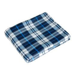"Blancho Bedding - [Trendy Plaids - Blue & White] Soft Coral Fleece Throw Blanket (71""-79"") - The Coral Fleece Throw Blanket measures 71 by 79 inches. Whether you are adding the final touch to your bedroom or rec-room, these patterns will add a little whimsy to your decor. Machine wash and tumble dry for easy care. Will look and feel as good as new after multiple washings! This blanket adds a decorative touch to your decor at an exceptional value. Comfort, warmth and stylish designs. This throw blanket will make a fun additional to any room and are beautiful draped over a sofa, chair, bottom of your bed and handy to grab and snuggle up in when there is a chill in the air. They are the perfect gift for any occasion!"