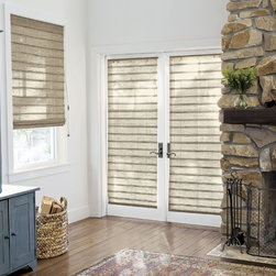 Smith and Noble Natural Woven Waterfall Shades - Natural Woven Shades are the perfect blend of versatility and texture, making them ideal for all spaces. Starting at $109+
