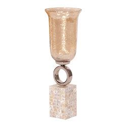 Howard Elliott - Howard Elliott Luster Glass Vase - Small - Small luster glass vase