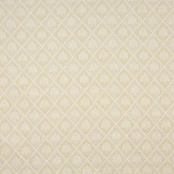 Off White Floral Diamond Upholstery Fabric By The Yard - Naturally colored upholstery fabrics are warm and inviting, which make this an excellent choice for any room! Of course, this fabric is excellent for correlating with other furniture.
