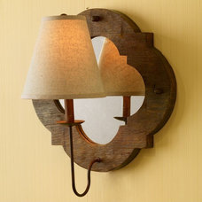 traditional wall sconces by Pierre Deux -- CLOSED