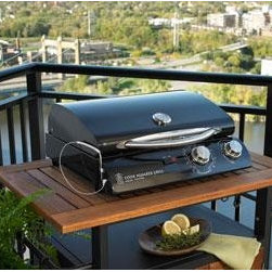 "20"" Electric Grill in Black Porcelain - The 20"" Electric Grill in Black Porcelain will definitely let you enjoy the perfect grilling experience. It's technology and function will result in a delicious outcome! Portable, easy to use and easy to clean. Features an exclusive Cook Number system that prompts you when your food is perfectly done."