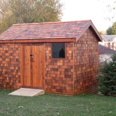 Traditional Sheds by Star Cedar Sheds