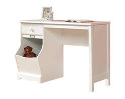 Sauder - Sauder Pogo Desk in Soft White Finish - Sauder - Kid Desks - 414435 -   About The Sauder Pogo Collection:
