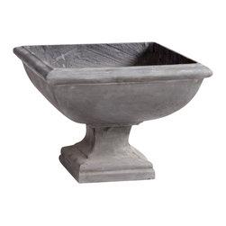 Cyan Design - Vermill Planter - Vermill planter - dark grey